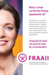 Spaar voor een gratis La Roche-Posay product bij Fraaii!